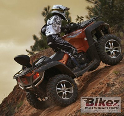 2012 cf moto terralander 800 specifications and pictures. Black Bedroom Furniture Sets. Home Design Ideas