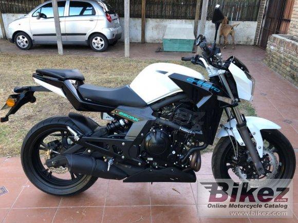 2014 CF Moto 650NK