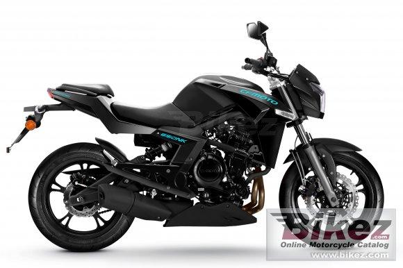2015 CF Moto 650NK