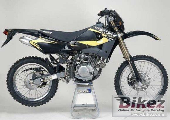 2010 CH Racing WXE 125 eu 2