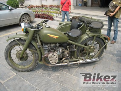 1998 Chang Jiang Cj750 M1m Specifications And Pictures