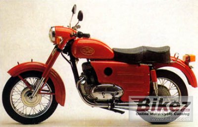 2011 Chang-Jiang Jawa 353 Replica photo