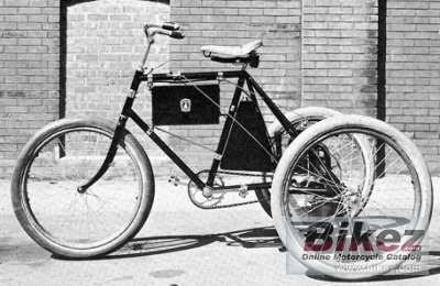 1897 Clarke Gasoline Tricycle