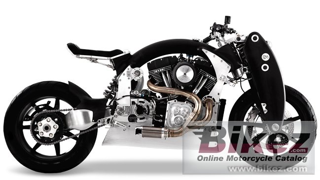 Big Confederate b120 wraith picture and wallpaper from Bikez.com