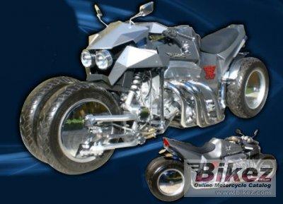 2011 Cosmos Muscle Bikes 4RWF V8