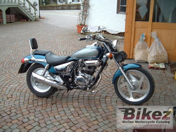 2000 Daelim VT 125 Evolution