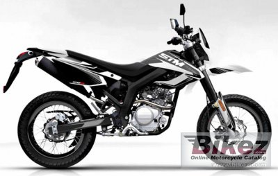 2010 Dafier STM 125 specifications and pictures