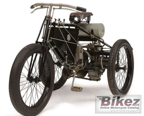 1901 De Dion-Bouton Tricycle