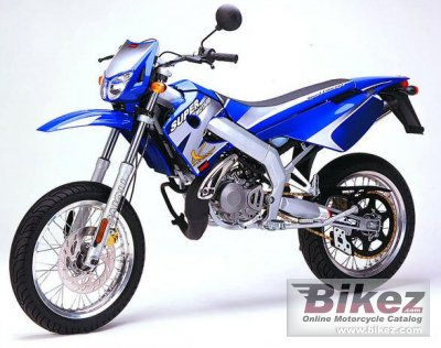 2003 Derbi Senda Supermotard specifications and pictures