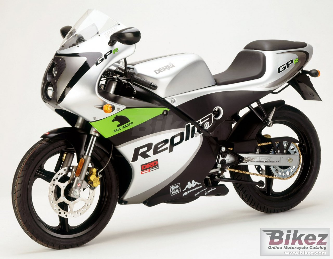 Big Derbi gpr 50 picture and wallpaper from Bikez.com