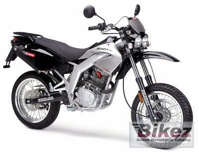 2006 Derbi Senda SM 125 4T specifications and pictures