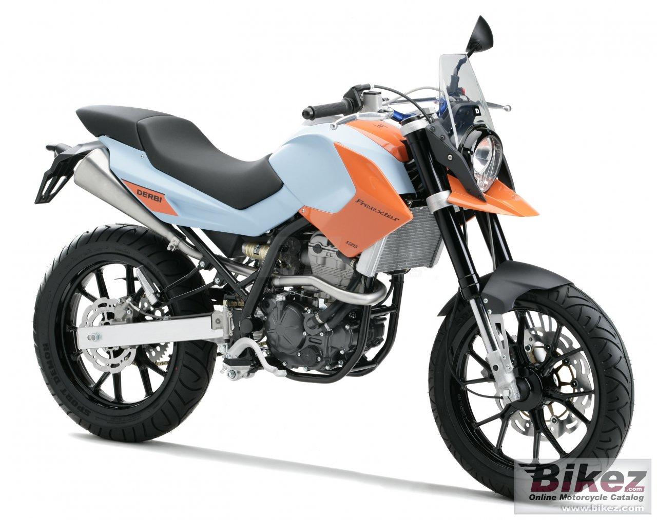 Big Derbi mulhacen 125st freexter picture and wallpaper from Bikez.com