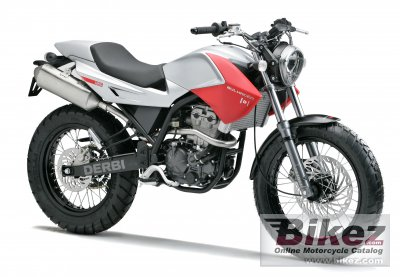 2007 Derbi Mulhacen 125 Cafe