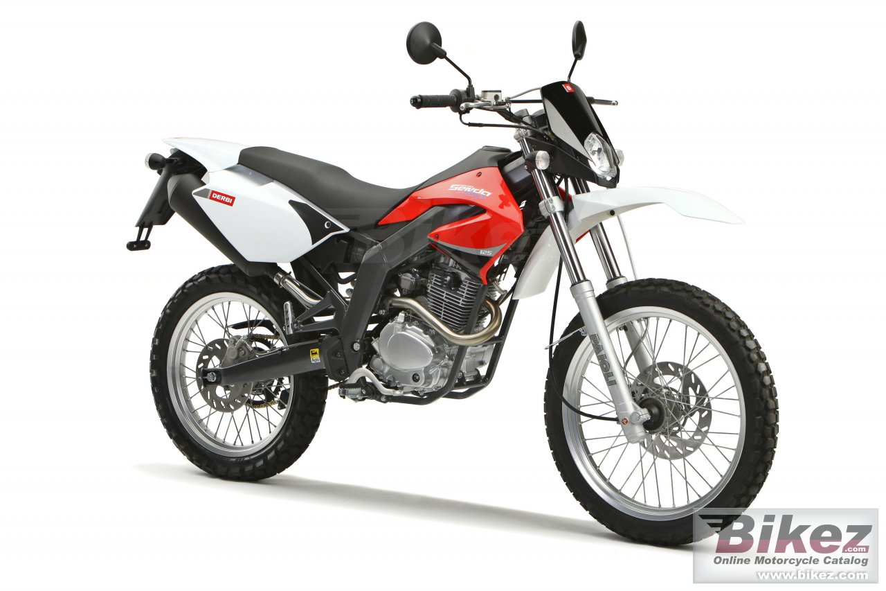 Big Derbi senda baja 125 r picture and wallpaper from Bikez.com