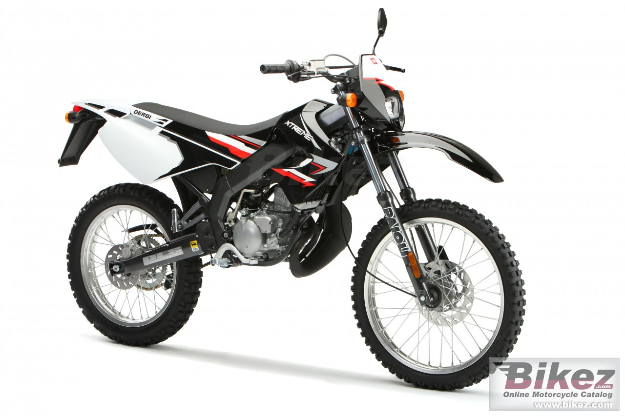 Big Derbi senda xtreme 50r picture and wallpaper from Bikez.com