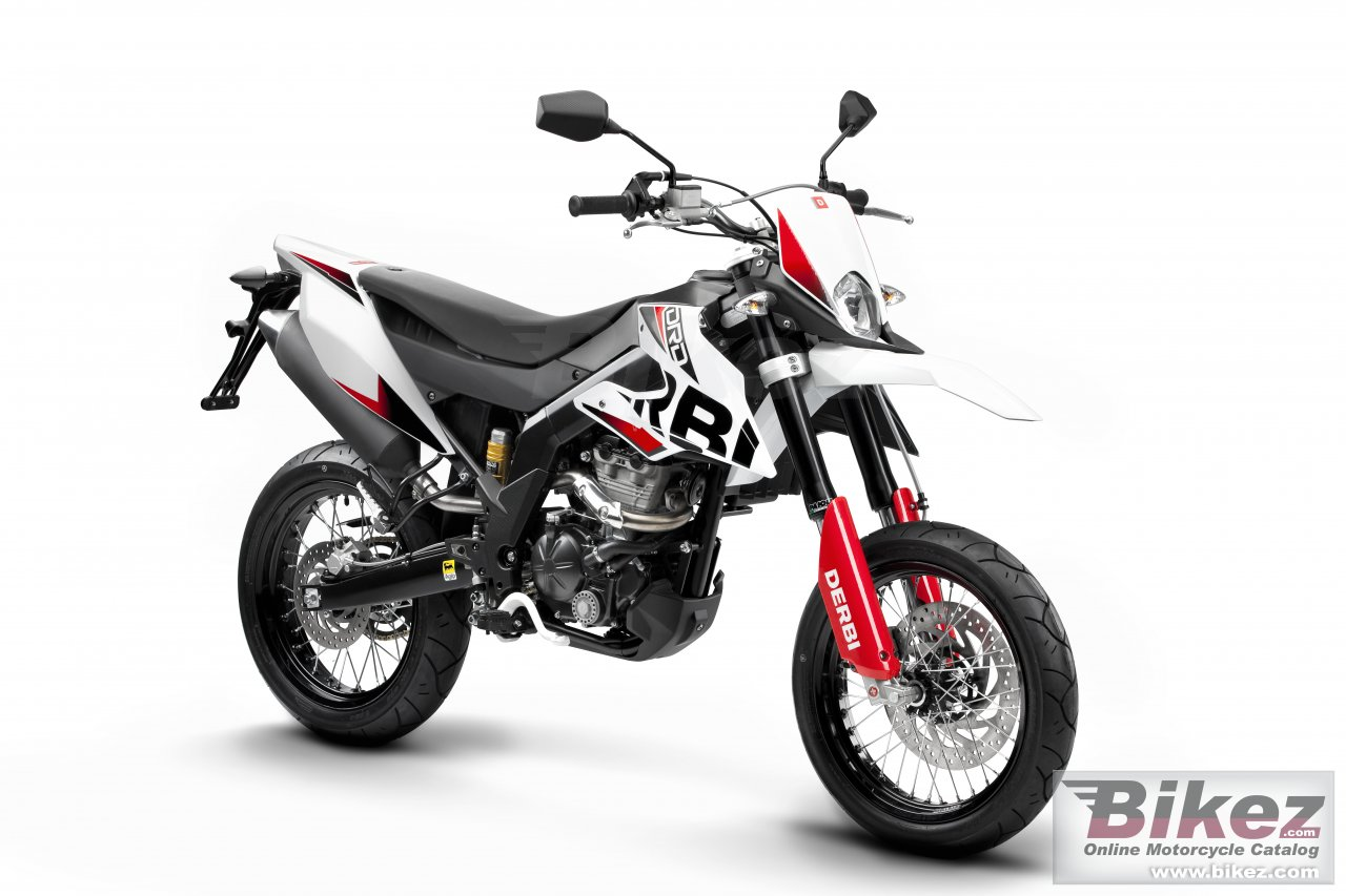 Big Derbi senda drd 125 sm picture and wallpaper from Bikez.com