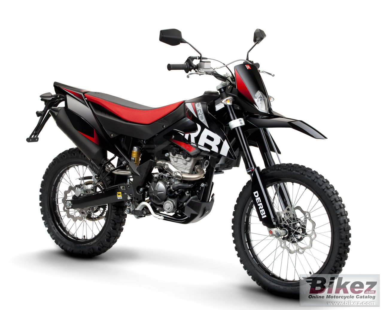 Big Derbi senda drd 125 r picture and wallpaper from Bikez.com
