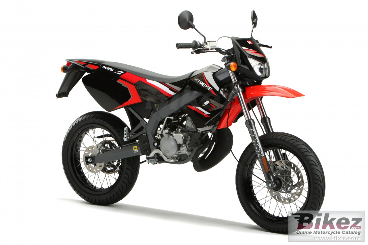 Big Derbi senda x-treme 50 sm picture and wallpaper from Bikez.com