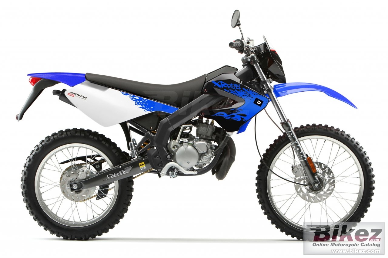 Big Derbi senda x-race 50 r picture and wallpaper from Bikez.com