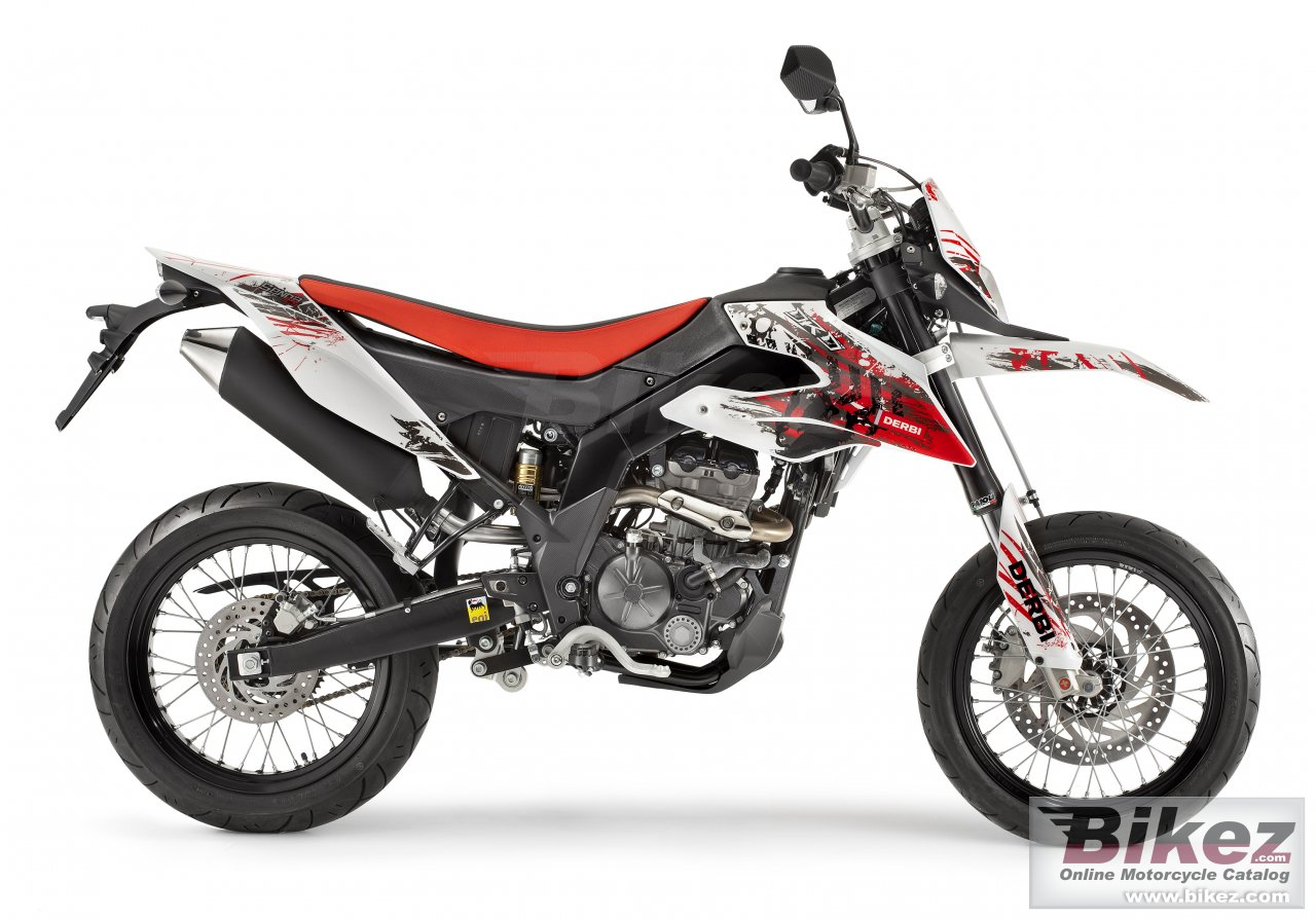 Big Derbi senda drd 125 4s 4v sm picture and wallpaper from Bikez.com