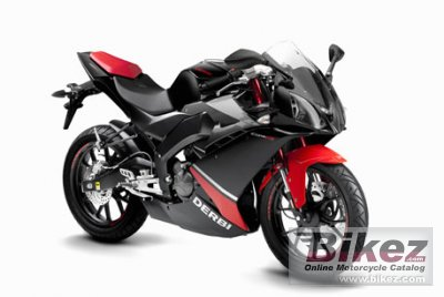 2017 Derbi GPR 125 specifications and pictures