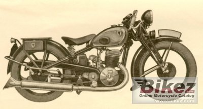 1933 DKW Block 500