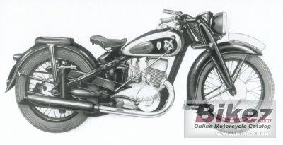 1939 DKW NZ 500