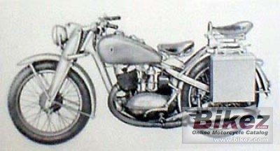 1945 DKW NZ 350-1