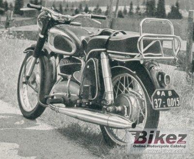 1957 DKW RT 200 S