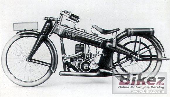 DKW Stahlmodell