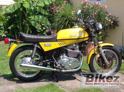 1976 Ducati 500 GTL