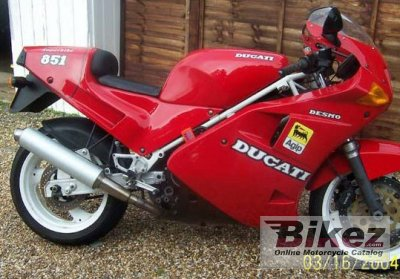 1989 ducati 851 strada specifications and pictures