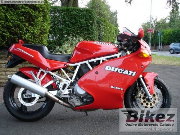 1992 Ducati 900 SS Super Sport photo