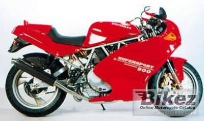 1993 Ducati 900 SS specifications and pictures