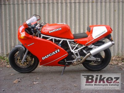 1993 Ducati 900 Superlight specifications and pictures