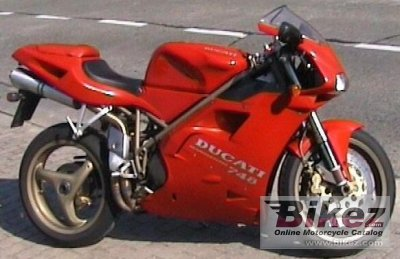 1995 ducati 748 biposto specifications and pictures