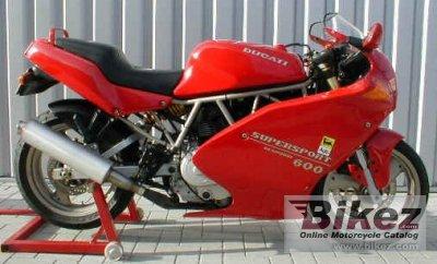 1995 Ducati SS 600 C
