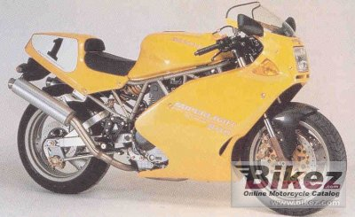 1996 Ducati 900 SL Superlight photo