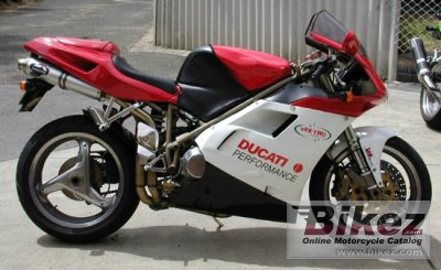 1997 ducati 748 biposto specifications and pictures