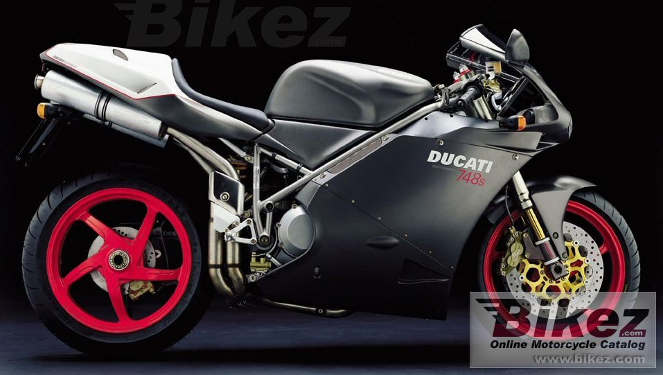 Big Ducati 748 s picture and wallpaper from Bikez.com