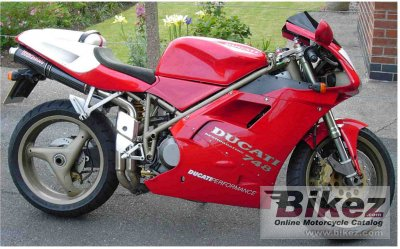 1998 ducati 748 biposto specifications and pictures