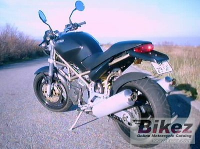 1999 Ducati Monster M600 Dark Specifications And Pictures