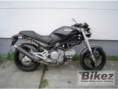 2000 Ducati Monster 600-Monster 600 Dark-Monster 600 City-Monster 600 Metallic photo
