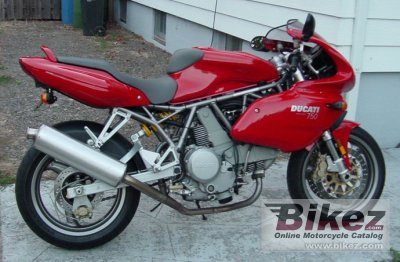 2000 Ducati SS 750 Super Sport photo