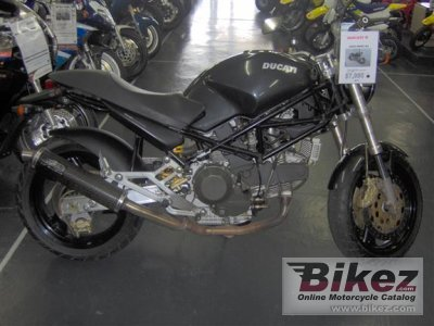 2000 Ducati Monster 900-Monster 900 Dark-Monster 900 City-Monster 900 Cromo-Monster 900 Special photo