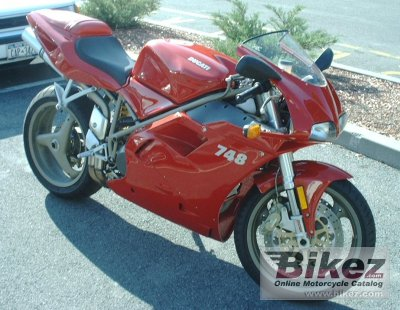 2000 ducati 748/748 s specifications and pictures