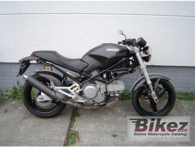 2000 Ducati Monster 600 Monster 600 Dark Monster 600 City