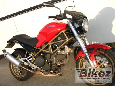 2000 Ducati Monster 750-Monster 750 Dark-Monster 750 City-Monster 750 Metallic