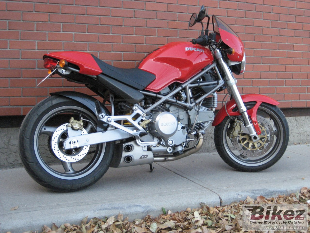 Ducati Monster  Weight