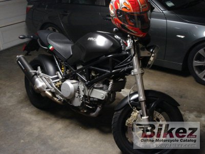 2002 Ducati Monster 750 i.e. Dark photo